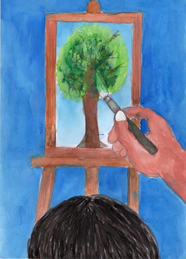 画家になりたいわたし