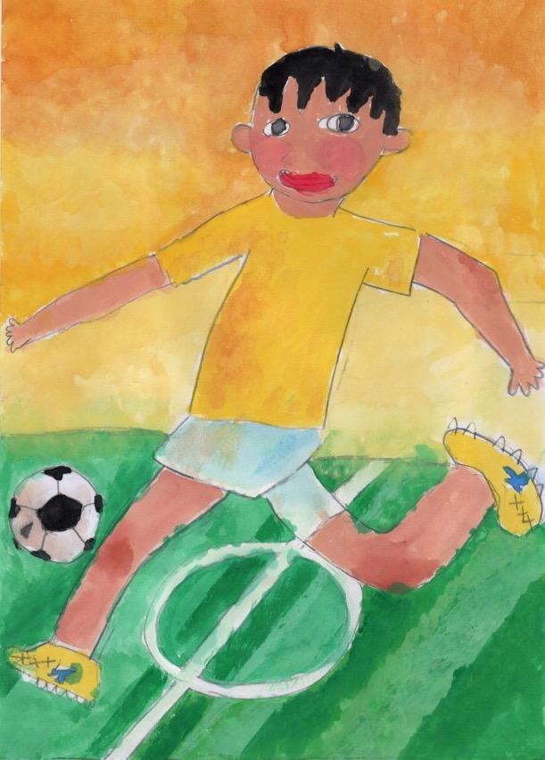 サッカー選手になりたい