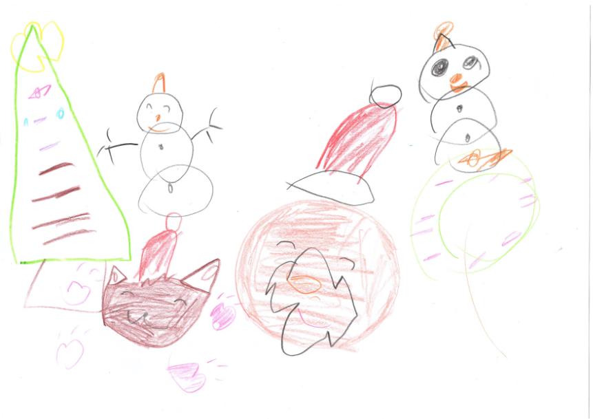 イーブイとクリスマスパーティー