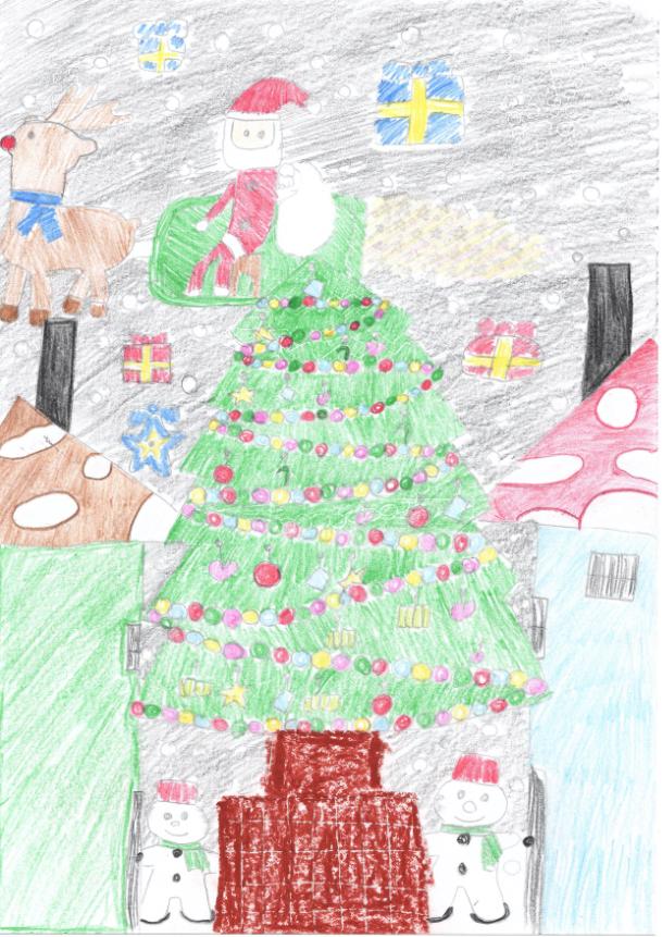 サンタサンとメリークリスマス