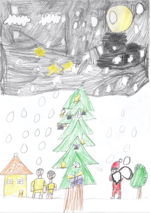 満月のクリスマス