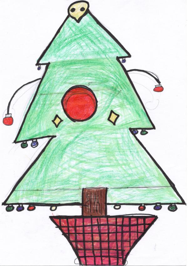 クリスマスツリーをかざった思い出